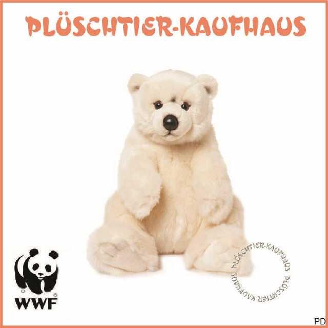 mit Eisbär-Schlüsselanhänger Kuscheltier NEU WWF Plüschtier Eisbär 47cm